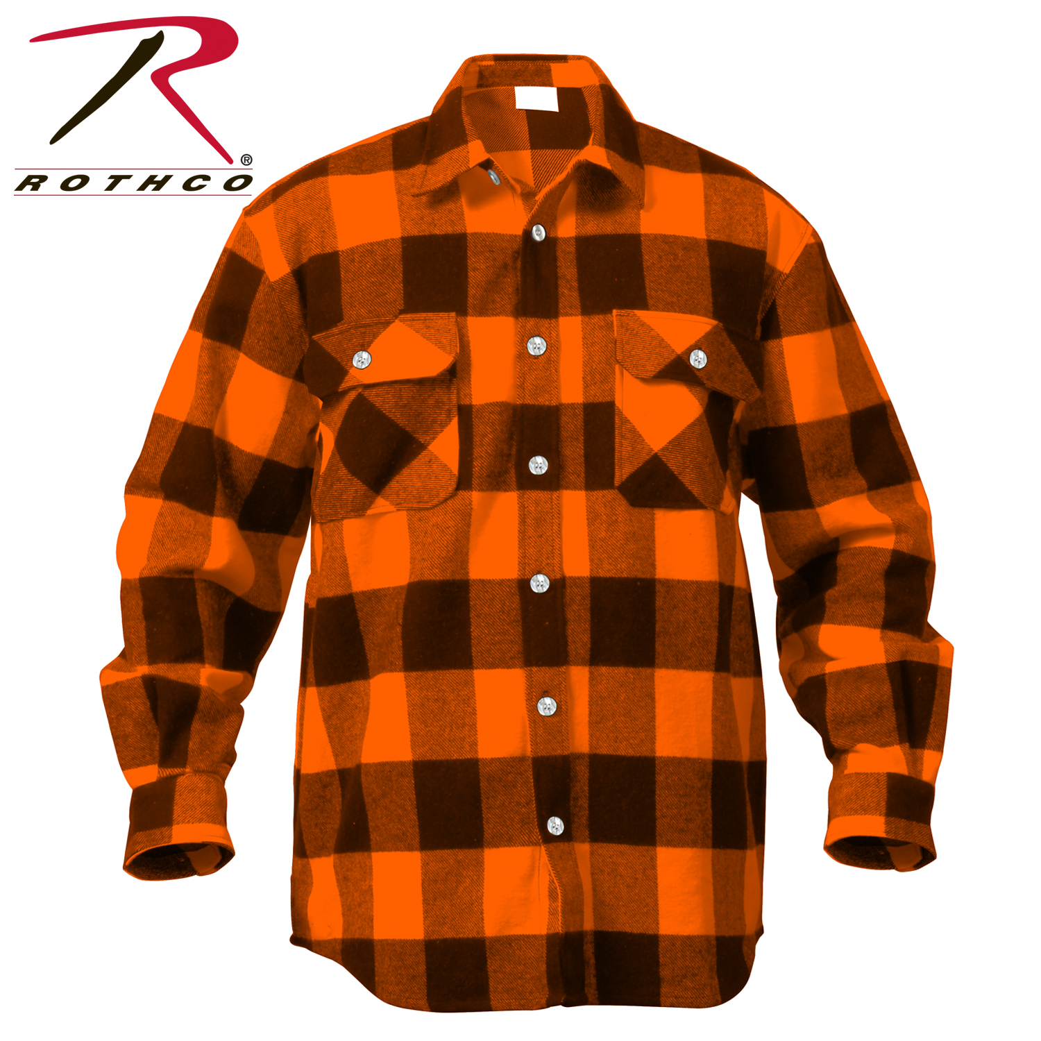 Rothco Extra Heavyweight Buffalo Plaid Flannel Shirts BIG AND TALL ... 791131c7500